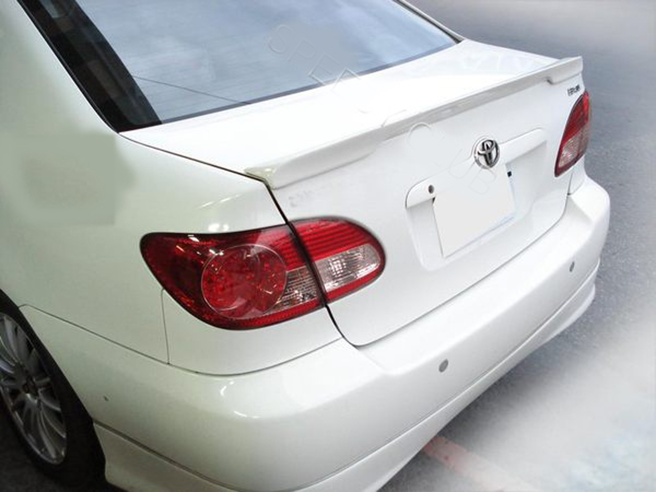 toyota corolla altis trunk deck lip spoiler oe type sedan 2002 2008 ebay details about toyota corolla altis trunk deck lip spoiler oe type sedan 2002 2008
